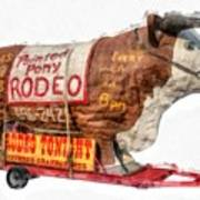 Painted Pony Rodeo Lake George Poster