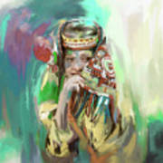 Painting 786 3 Kailash Girl Poster