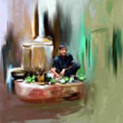 Painting 788 1 Kpk Tea Culture Poster