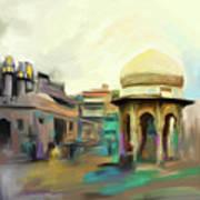 Painting 798 3 Chowk Yaadgar Poster
