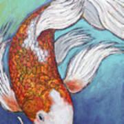 Paisley Koi Poster