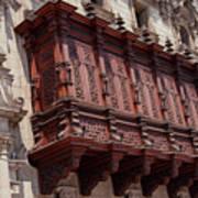 Palace Balcony Poster