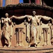 Palace Of Fine Arts Maidens Three Poster