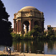 Palace Of Fine Arts Sf Poster