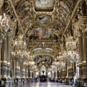 Palais Garnier Grand Foyer Poster