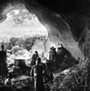 Palestine: Cave Dwelling Poster