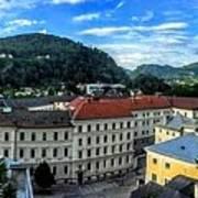 Pamramic Of Salzburg  Poster