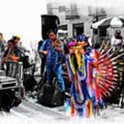 Pan Flutes In Cuenca Poster