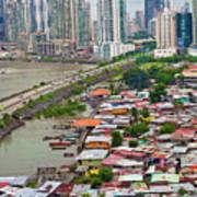 Panama City Poster by Iris Greenwell