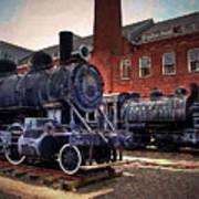 Panama Railroad Locomotive 299 Poster