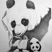 Panda Collage Poster
