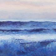 Panorama Ocean Painting Poster