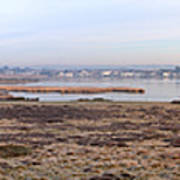 Panorama Of Christchurch Harbour Poster