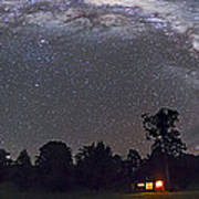 Panorama Of The Southern Night Sky Poster
