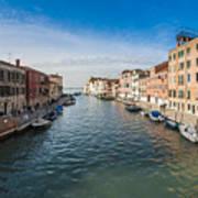 Panorama Of Venice Poster