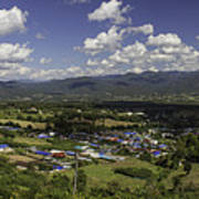 Panorama View Point Of Pai   Poster