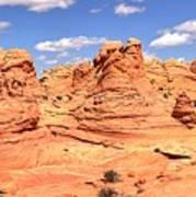 Panoramic Desert Landscape Fantasyland Poster