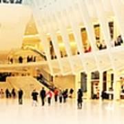 Panoramic Oculus In New York  Poster