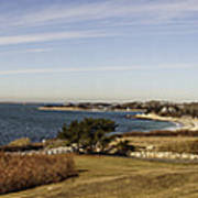 Panoramic Of Woods Hole  Poster