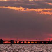 Panoramic Sunset 3-18-2016 V2 Poster
