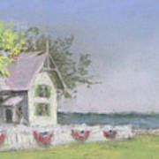 Panoramic View Of Marblehead Lighthouse Poster