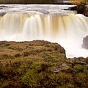 Panoramic Waterfall Manitoba Poster