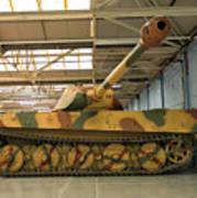 Panzer Vi Tiger Tank In Bovington, Uk Poster