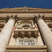 Papal Balcony Poster