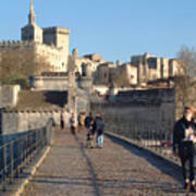 Papal Palace Avignon Poster