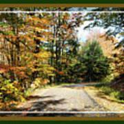 Paper Mill Trail, Framed Poster