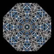 Papilloz - Mandala Poster