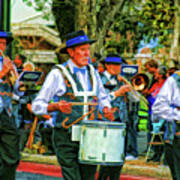 Parade Musicians Poster