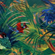 Paradise Birds Poster