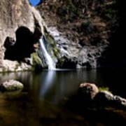 Paradise Falls In Thousand Oaks, California Poster