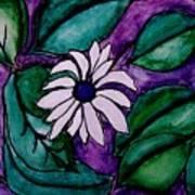 Paradise Flower Poster