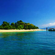 Paradise Island Haiti Poster