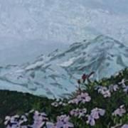 Paradise Mount Rainier Poster