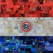 Paraguay Flag Poster