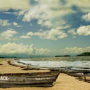 Paraty Beach, So. America Poster