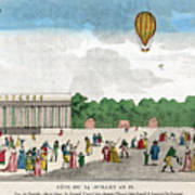 Paris: Bastille Day, C1801 Poster