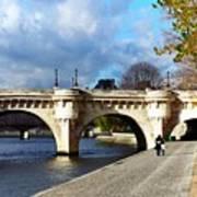 Paris Bridge 0523 Poster