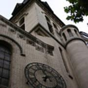 Paris Church Poster