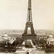 Paris: Eiffel Tower, 1900 Poster