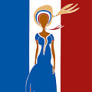 Paris Fashion Poster