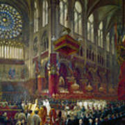 Paris: Notre Dame, 1841 Poster