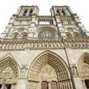 Paris Notre Dame Poster