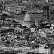 Paris Pantheon Poster