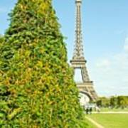 Paris Towers Poster