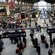 Paris Train Station Poster
