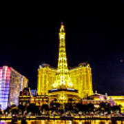 Paris Vegas Poster